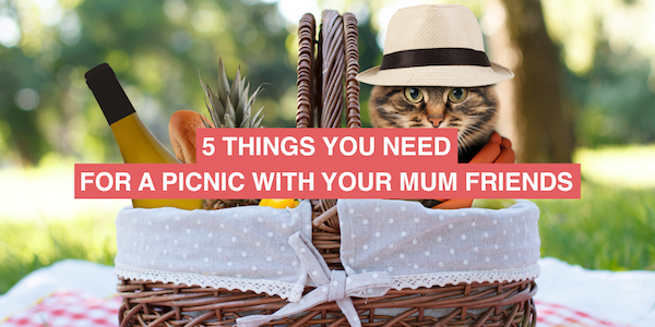 Planning a picnic with mum mates