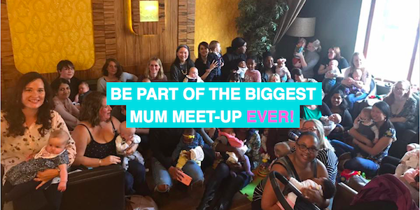 Be part of the biggest mum meet-up EVER