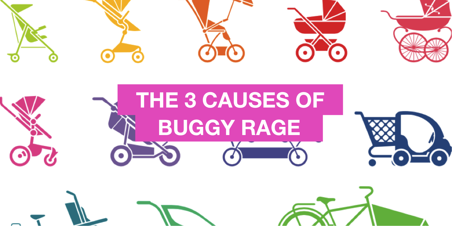 The three causes of buggy rage